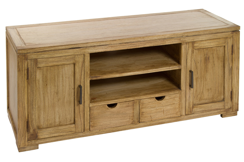 mueble televisi n en madera acacia ios 45 x 130 x 55 cm